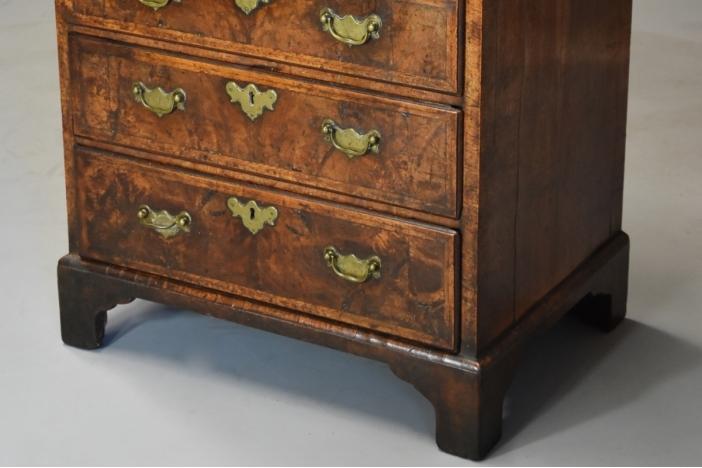 Rare 18thc walnut chest