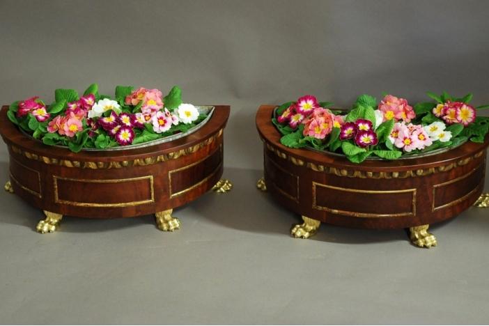 Pair of 19thc jardinieres