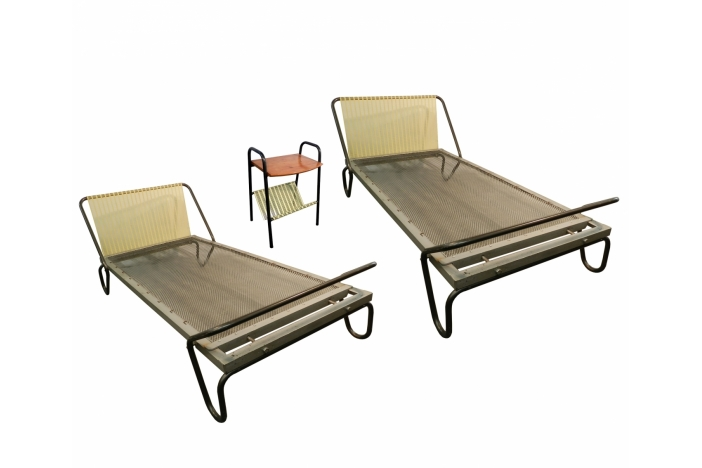 J. Hitier. Pair of beds