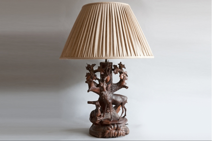 Black Forest Table Lamp