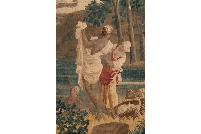 'Le Soir' Tapestry c.1760