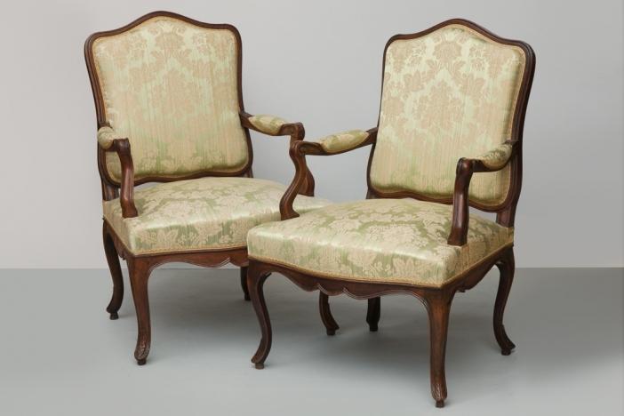 Pair Of Louis XV Fauteuils