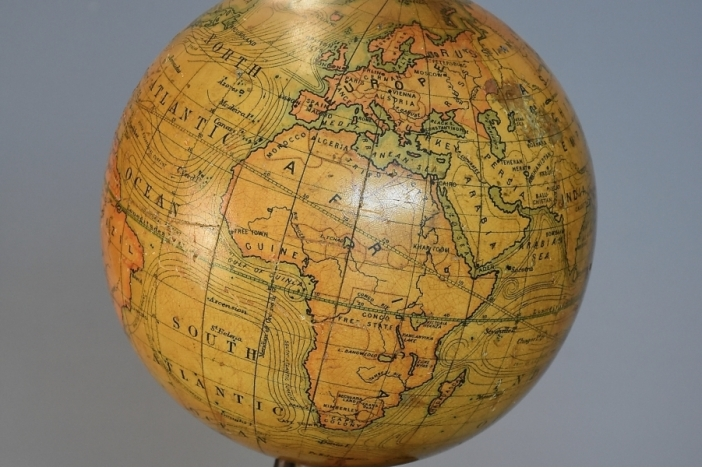 Early 20thc table globe
