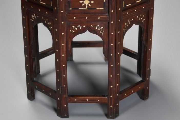 Anglo Indian octagonal table