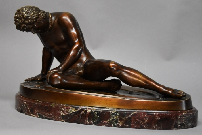 Large bronze 'Dying Gaul'