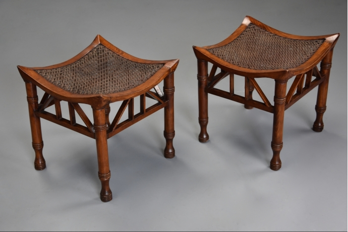 Pair of Thebes stools