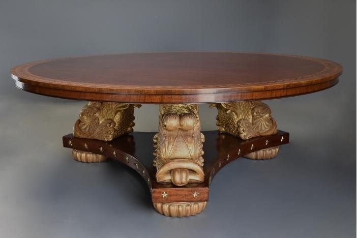 Large Regency style table
