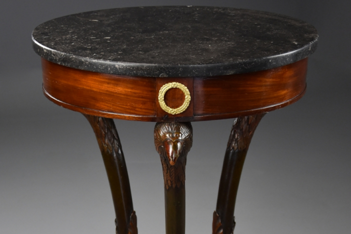 French Empire gueridon table