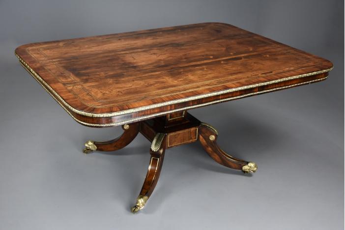 Regency rosewood table