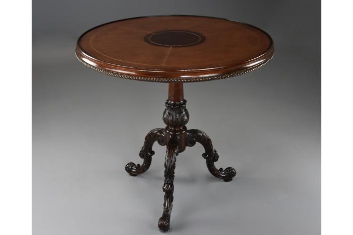 18thc style tripod table