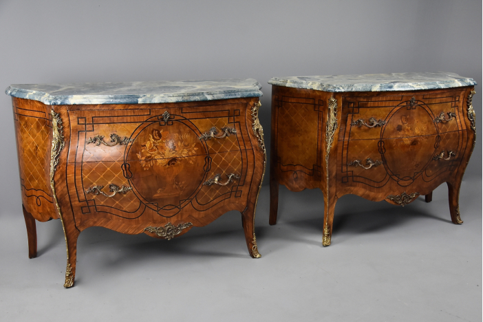 Pair of Kingwood commodes