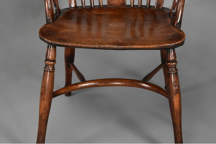 10 Swedish Chairs, Circa 1840