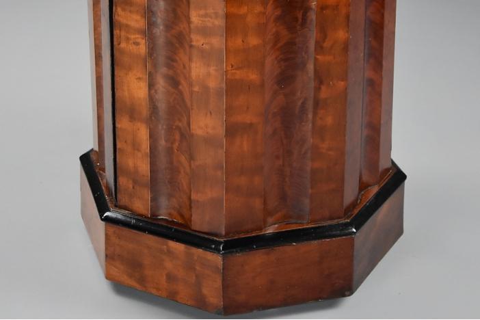 19thc mahogany pot cupboard