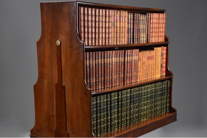 Rare 18thc waterfall bookcase