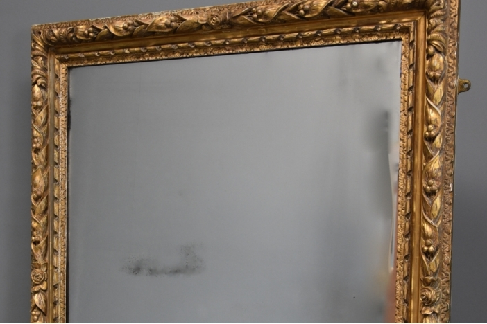 Large 19thc giltwood mirror