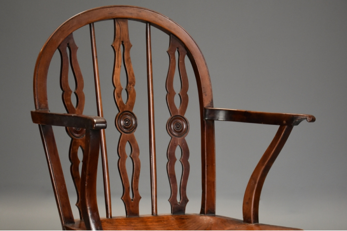 Yew Prior Windsor armchair