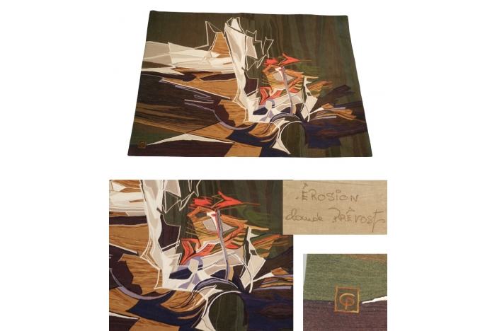 CLaude Provost 1970 Tapestry