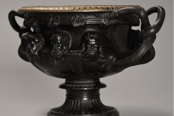 Grand Tour bronze Warwick Vase