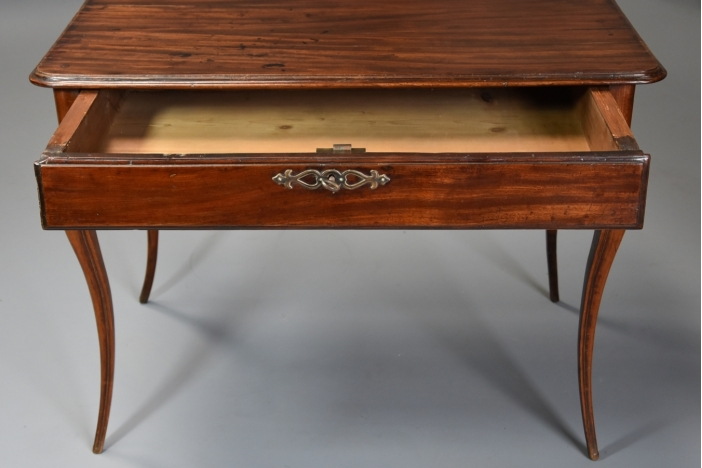 18thc French walnut table