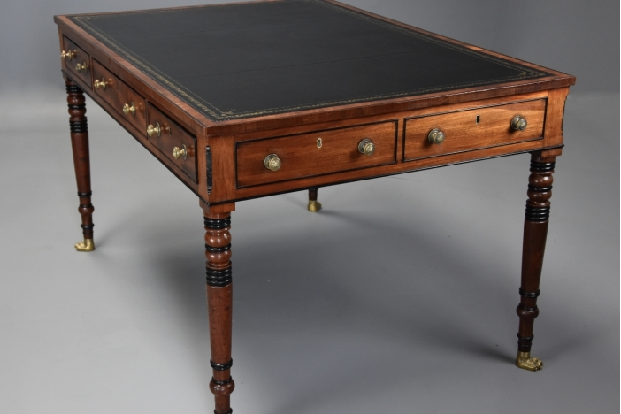 Large Regency writing table