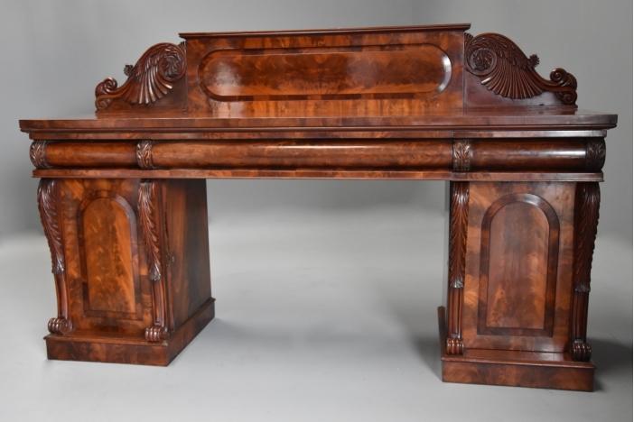 19thc mahogany sideboard