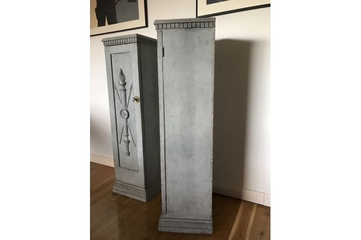 Gustavian Pair of Columns