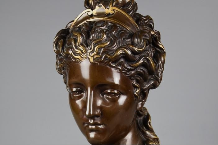Plaster Bust of Gustav III