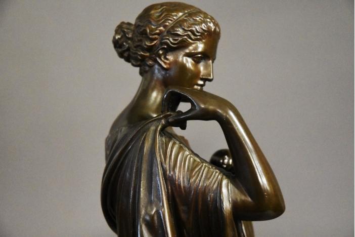 19thc bronze Atemis of Gabii
