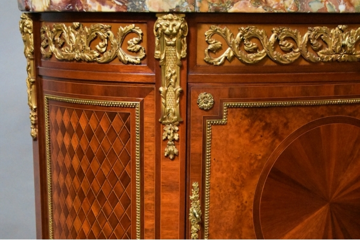 French Kingwood cabinet