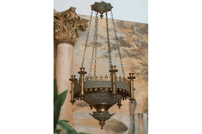 French Curch-Chandelier
