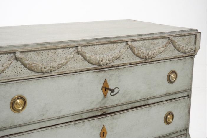 Gustavian chest, circa 1790