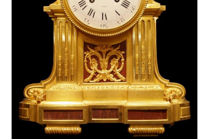 French 19th C  Ormolu Clock