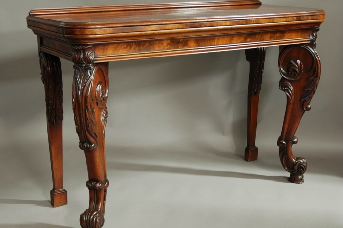 William IV console table