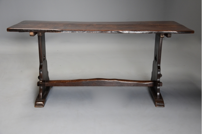 Arts & Crafts oak table