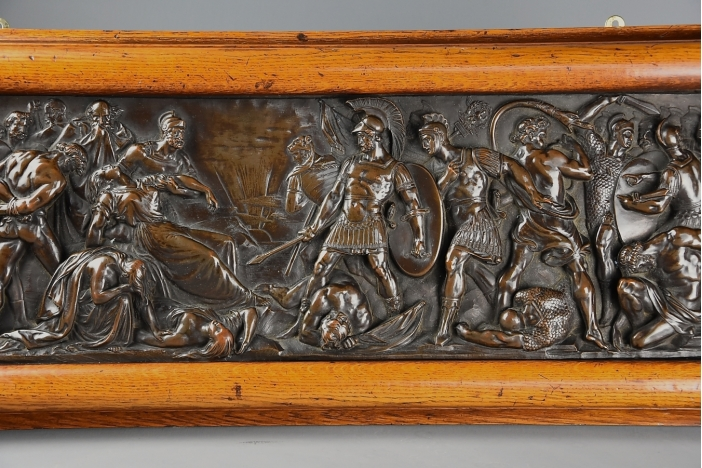 Bronzed Classical plaque