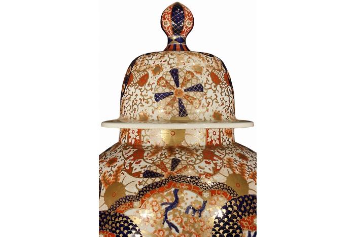 19th C Japanese Imari Vases