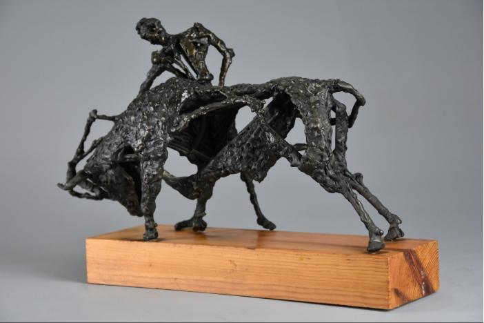 'The Matador' bronze