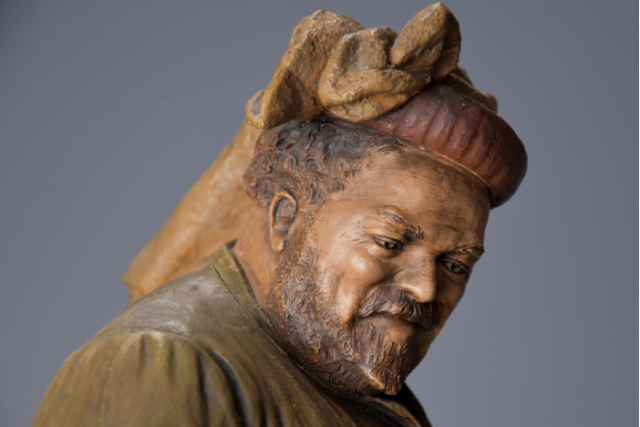 'Falstaff' by Goldscheider