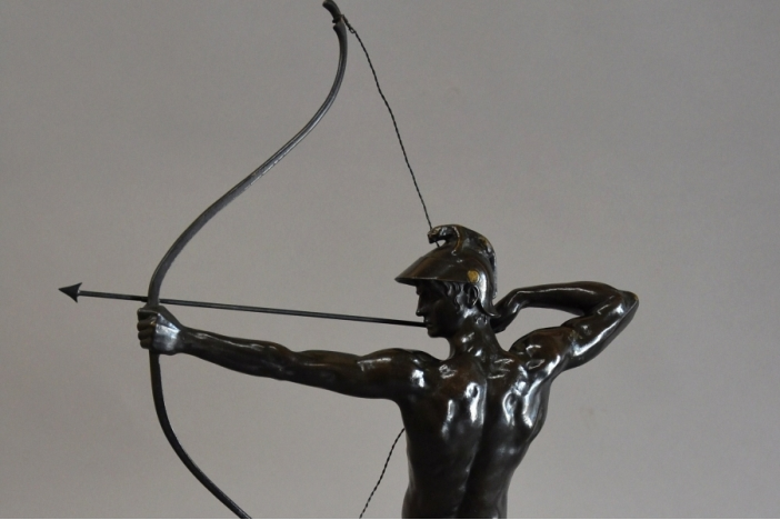 Bronze 'The Archer' by Geyger