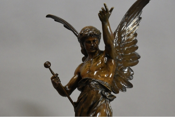 Large 19thc French bronze