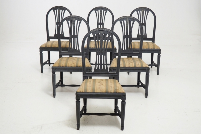 Gustavian style chairs