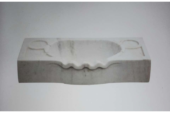 Marble Scalloped Sink Basin