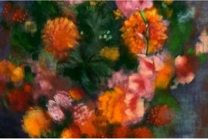 Painting by Edvard Saltoft