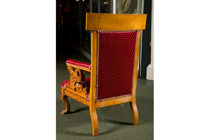 Pair of Charles X Armchairs