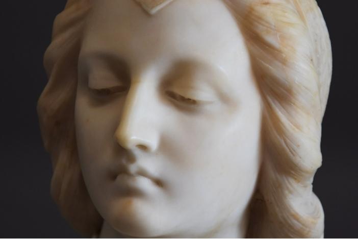 19thc Italian marble bust
