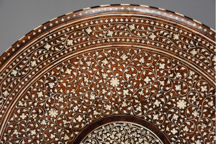 Anglo Indian circular table