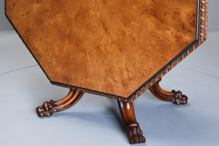 Pair Anglo Indian camel tables