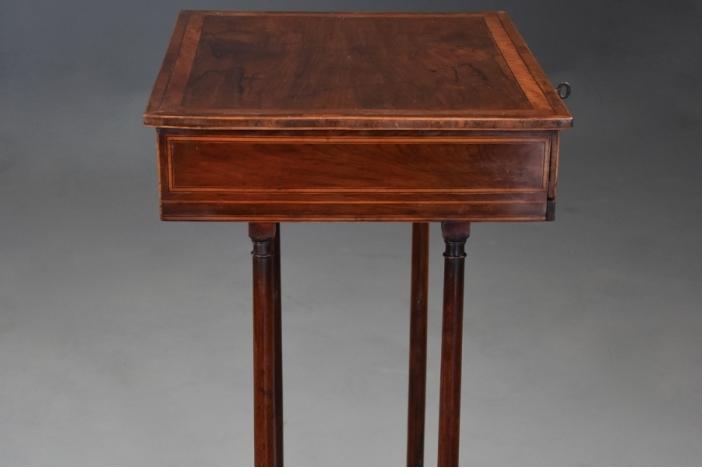 Sheraton period rosewood table