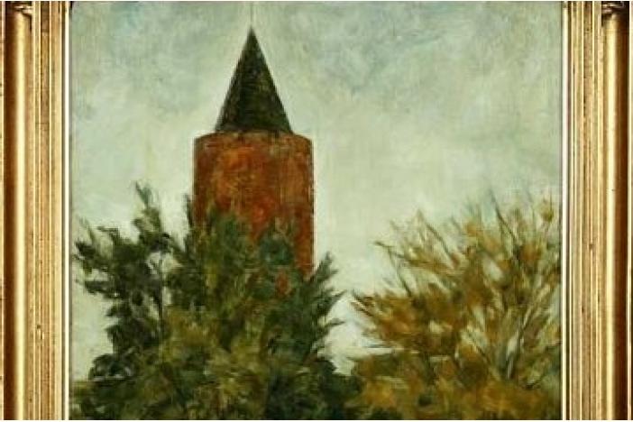 Painting by Svend Hammerhøi