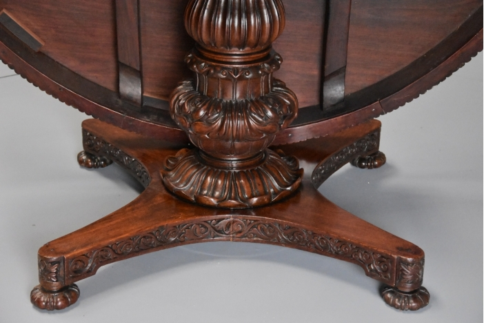 19thc large Anglo Indian table